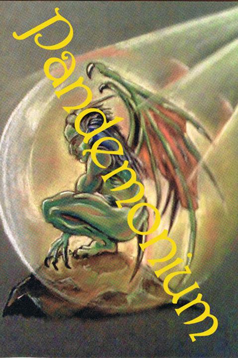 Winged Demon Card