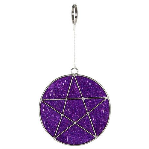 Sun Catcher Pentagram