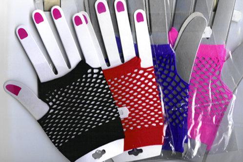 Short Net Gloves