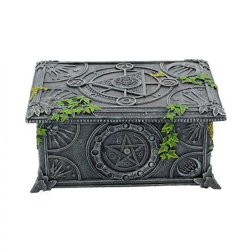 Nemesis Wiccan Pentagram Tarot/ Trinket Box
