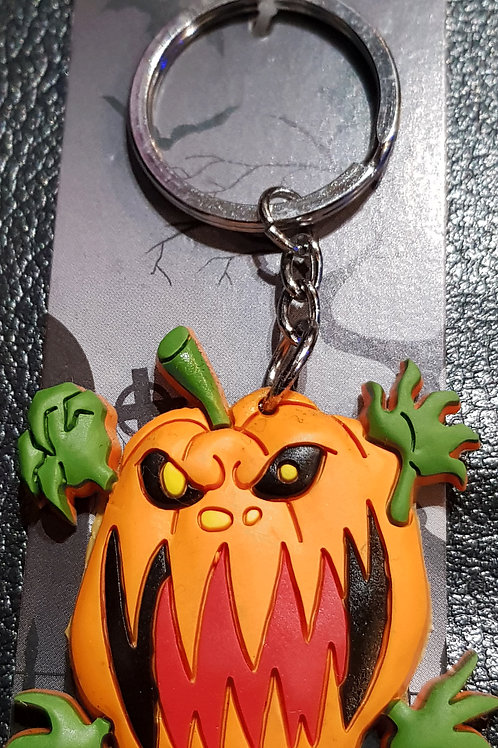 Screaming Pumpkin Flexi Keyring