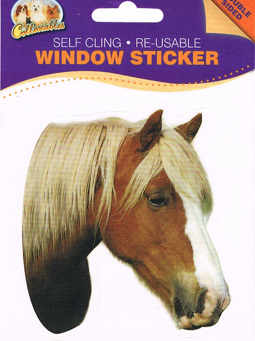 Palomino Window Sticker