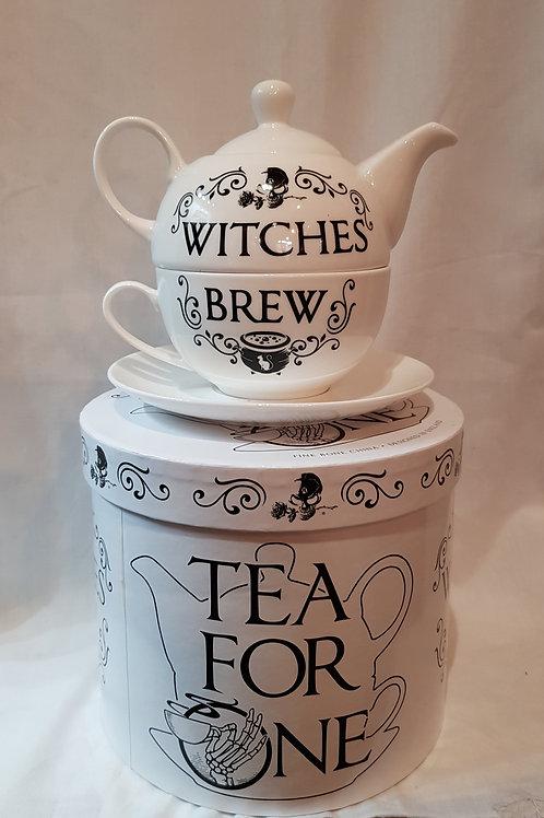 Tea For One Witches Brew Tea Pot Set
