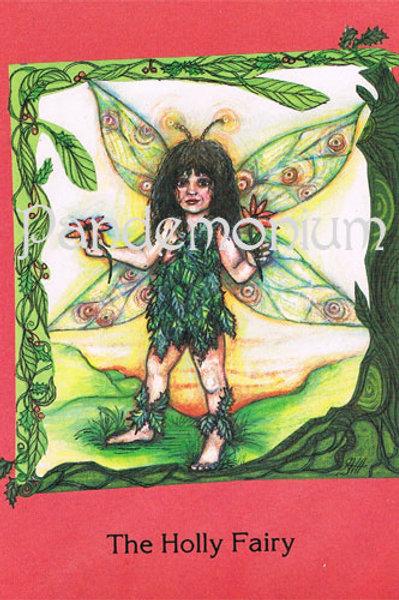 Holly Fairy Card