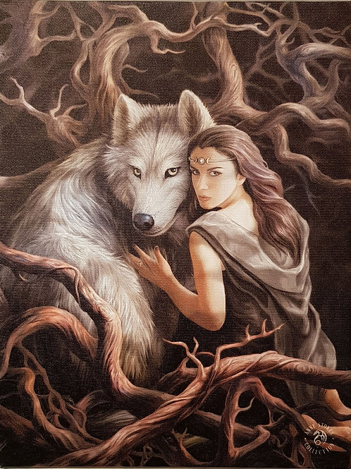 Anne Stokes Wall Plaque Soul bond