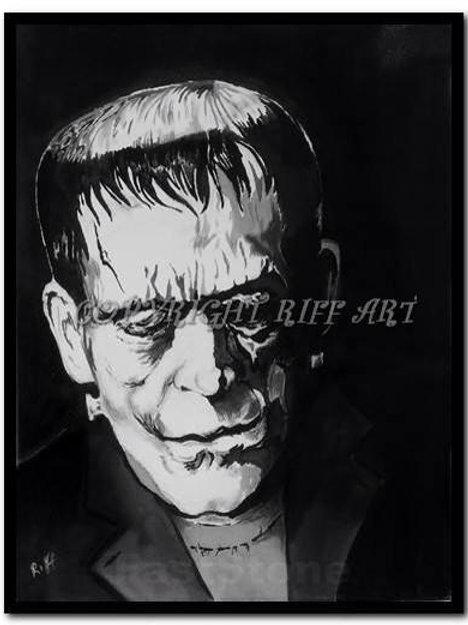 Frankensteins Monster Print