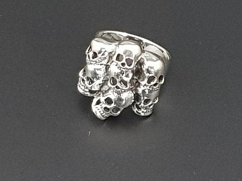 Skull Pile Ring