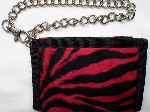 Wallet Zebra Black And Red