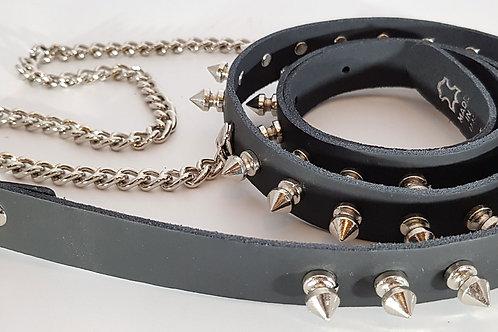 Belt - 1 Row Spike & Chain