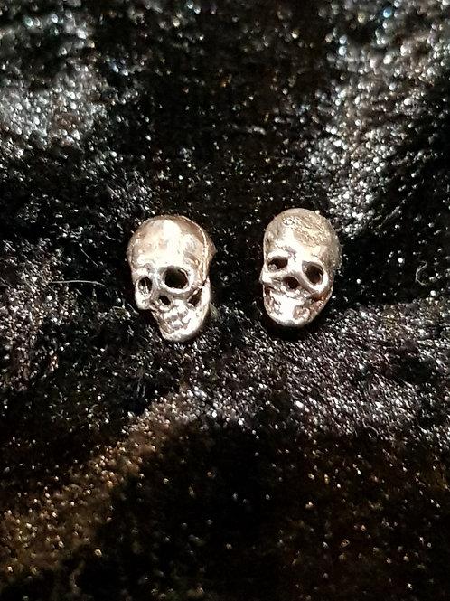 Plain Skull Studs