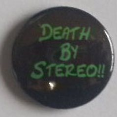 Button Badge Death By Stereo