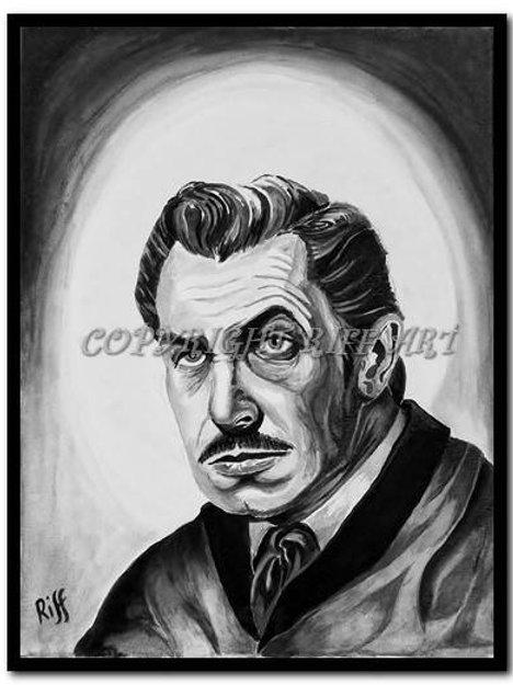 Vincent Price Print