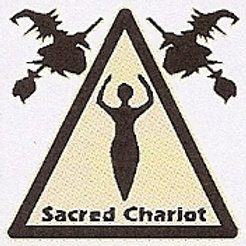 PWD35 Sacred Chariot Window Sticker