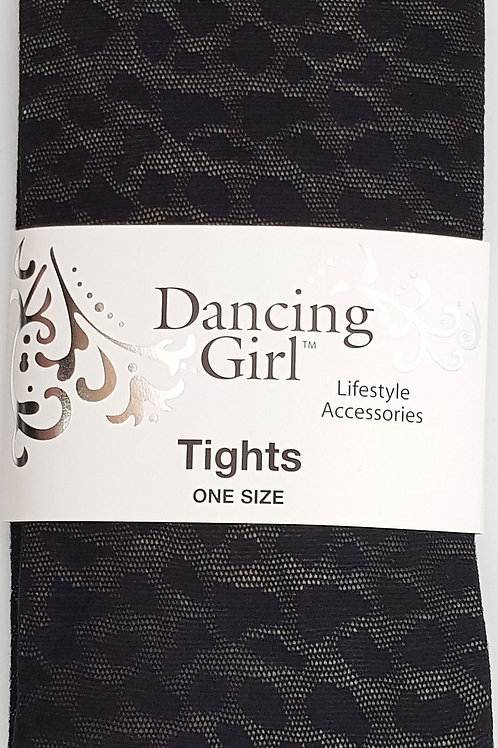 Dancing Girl Leopard Tights