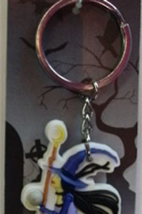 Sasha Purple Flexi Keyring