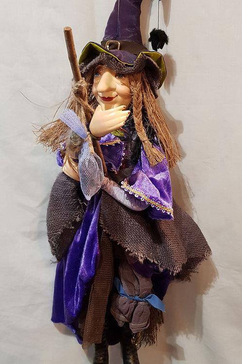Pendle Witch Alice Nutter Purple