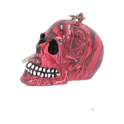 Nemesis Romance Skull Keyring
