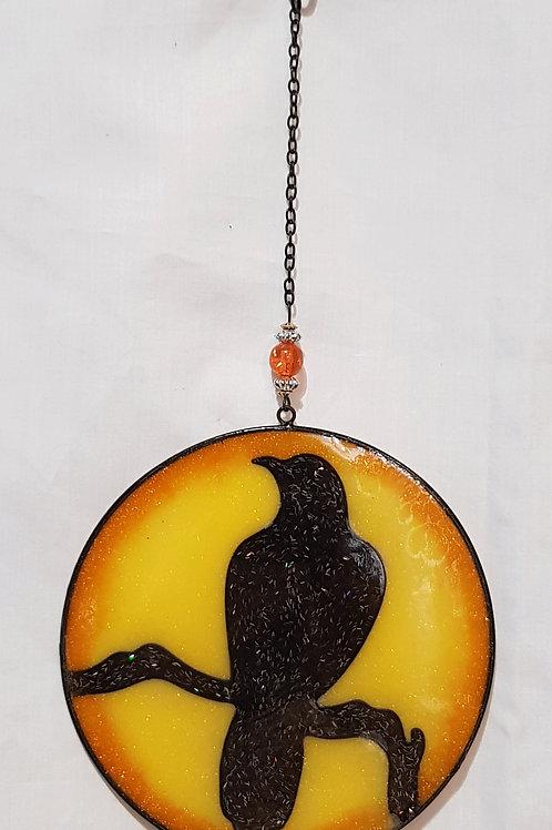 Light Catcher Raven Round