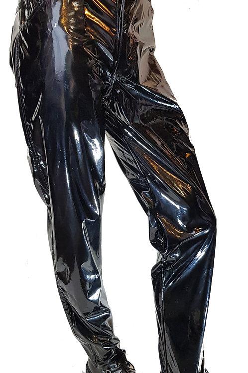 Plain Gloss PVC Jeans