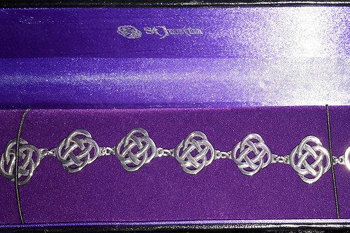 St Justin Kells Knotwork Bracelet