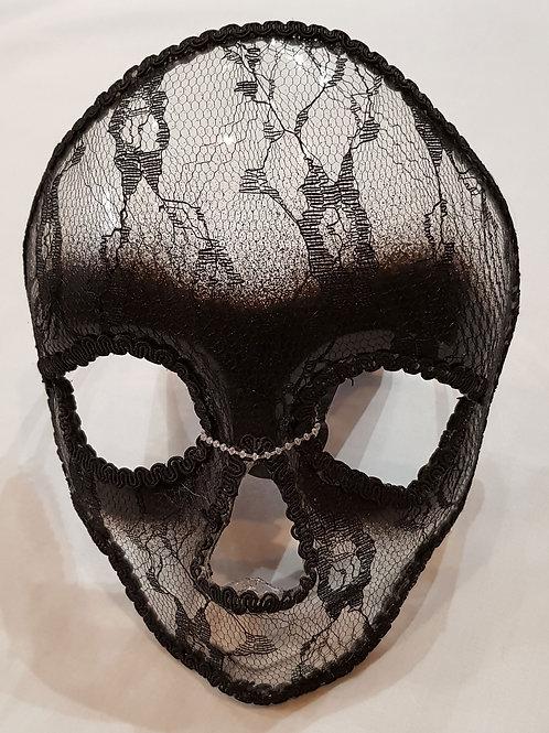 Lace Skull Mask