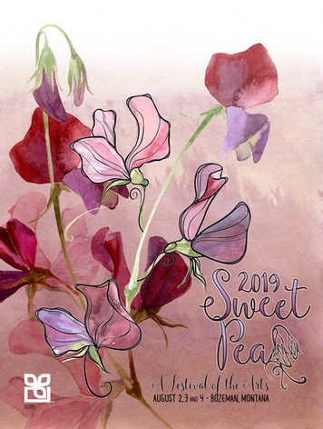 2019 Sweet Pea Poster Submission