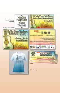 Music Festival Collateral Material