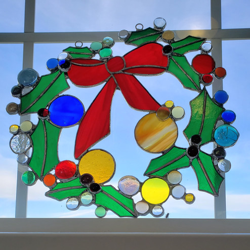 Holiday Wreath Hanging