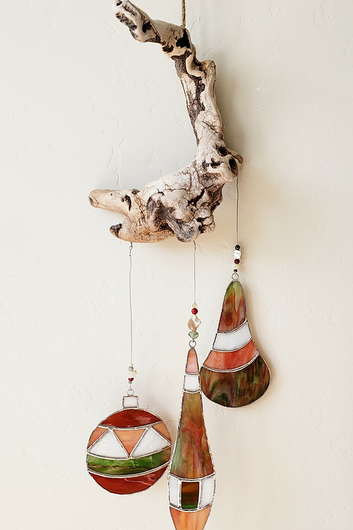 Earth-toned Ornament Wall Hanging