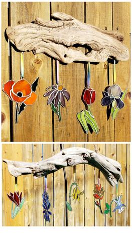Flower Driftwoods