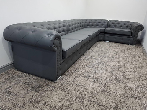 8 Seater Chesterfield Corner Sofa