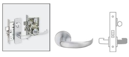 Schlage L9080 Mortise Lock