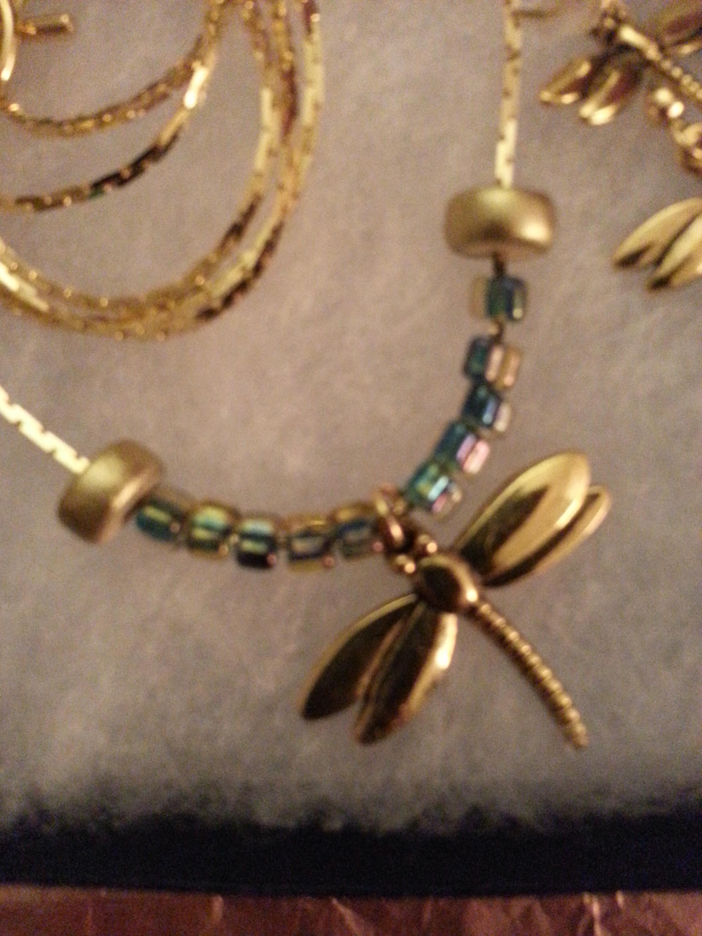 Golden Egypt Dragonfly N&E -- SOLD
