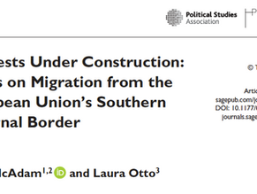 Article Published with Political Studies!