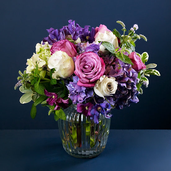 Purple Mist Rose Bouquet