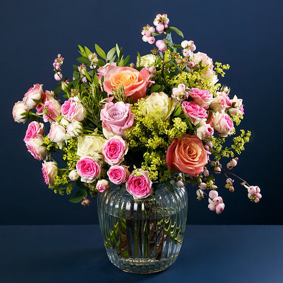 Country Garden Rose Bouquet