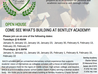 Open Houses at the Bentley