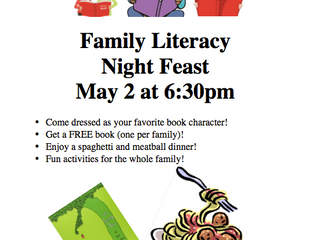 You're invited to Literacy Night!