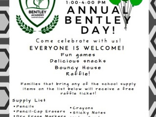 Bentley Day is coming soon!