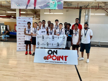 15u Boys win gold at the onpoint tournament