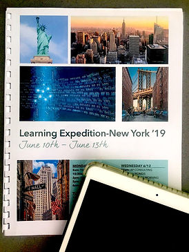 Roadbook of the Learning Expedition Program. Discover the New York vibrant ecosystem and meet inspiring entrepreneurs and personalities from the city. Decrouvrez l'ecosysteme new yorkais
