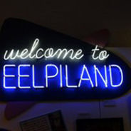 image of lighted sign Eelpiland