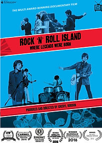 POSTER ROCK N ROLL ISLAND WITH LAURELS.j