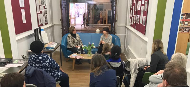 Cheryl Robson and Ewa Dodd