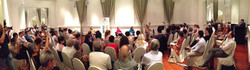 photo of book launch in singapore at the