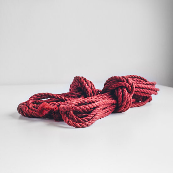 Red jute sets (untreated)