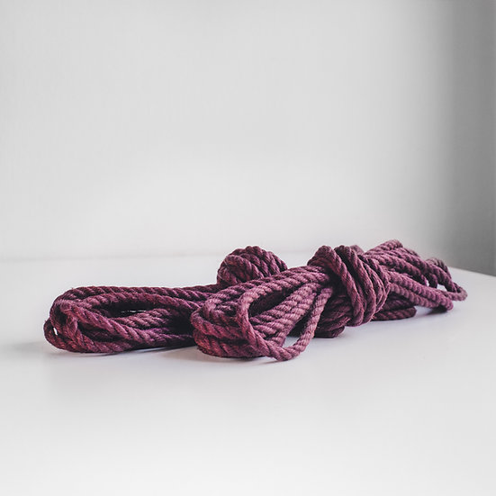 Purple jute sets (untreated)