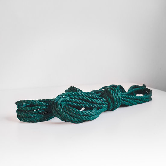 Green jute sets (treated)