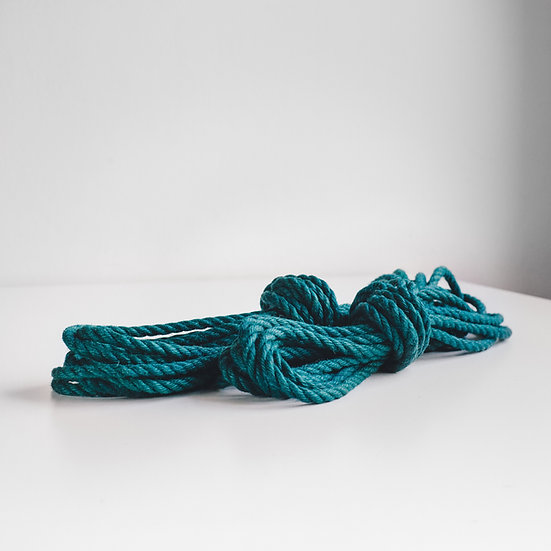 Turquoise jute sets (untreated)