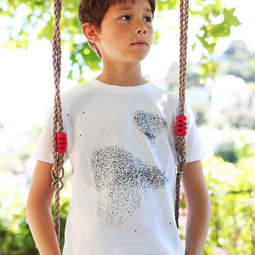 Riou atelier -t-shirt blanc enfants